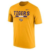 Men's Nike LSU Tigers Legend Staff Dri-Fit Tee