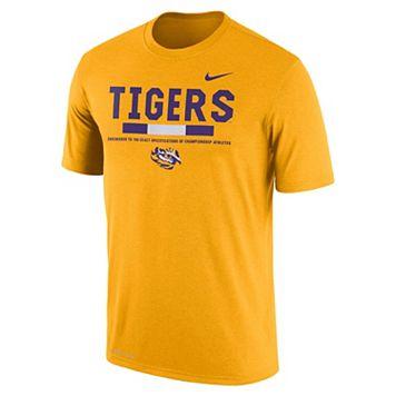 Men's Nike LSU Tigers Legend Staff Dri-Fit Tee