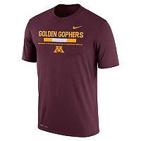 Men's Nike Minnesota Golden Gophers Legend Staff Dri-Fit Tee