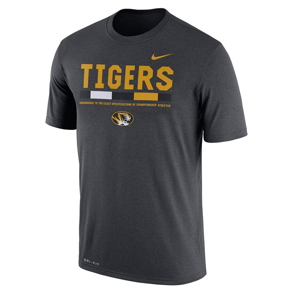 Men's Nike Missouri Tigers Legend Staff Dri-Fit Tee