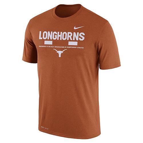 Men's Nike Texas Longhorns Legend Staff Dri-Fit Tee