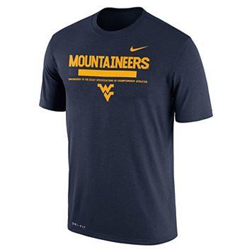 Men's Nike West Virginia Mountaineers Legend Staff Dri-Fit Tee