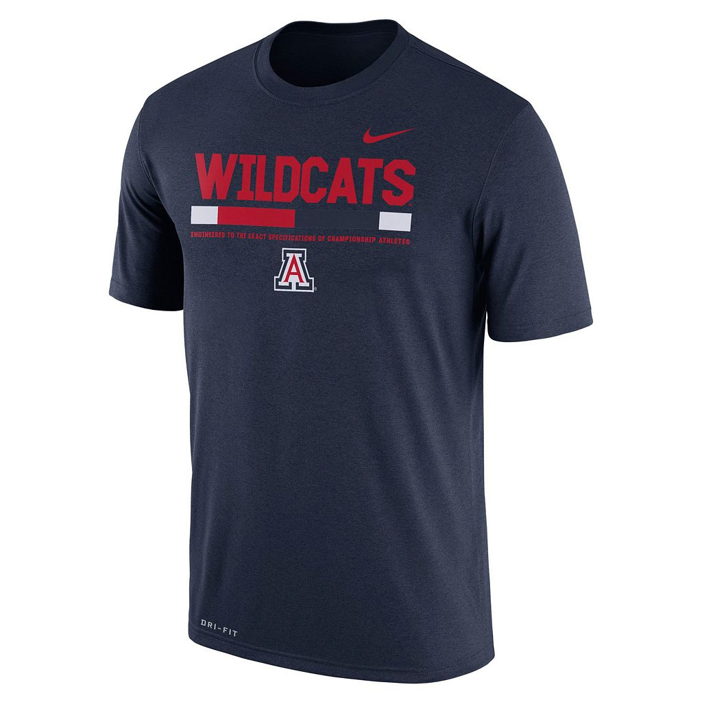 Men's Nike Arizona Wildcats Legend Staff Dri-Fit Tee