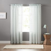 SONOMA Goods for Life™ Ditzy Clip Sheer Curtain