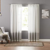 SONOMA Goods for Life™ Stephanie Stripe Sheer Curtain