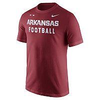 Men's Nike Arkansas Razorbacks Football Facility Tee