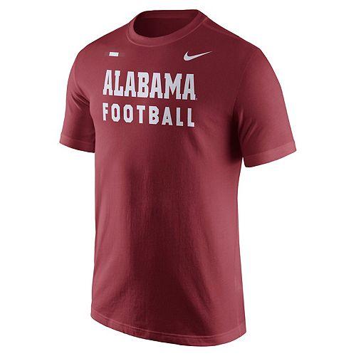Men's Nike Alabama Crimson Tide Football Facility Tee