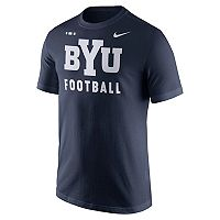 Men's Nike BYU Cougars Football Facility Tee