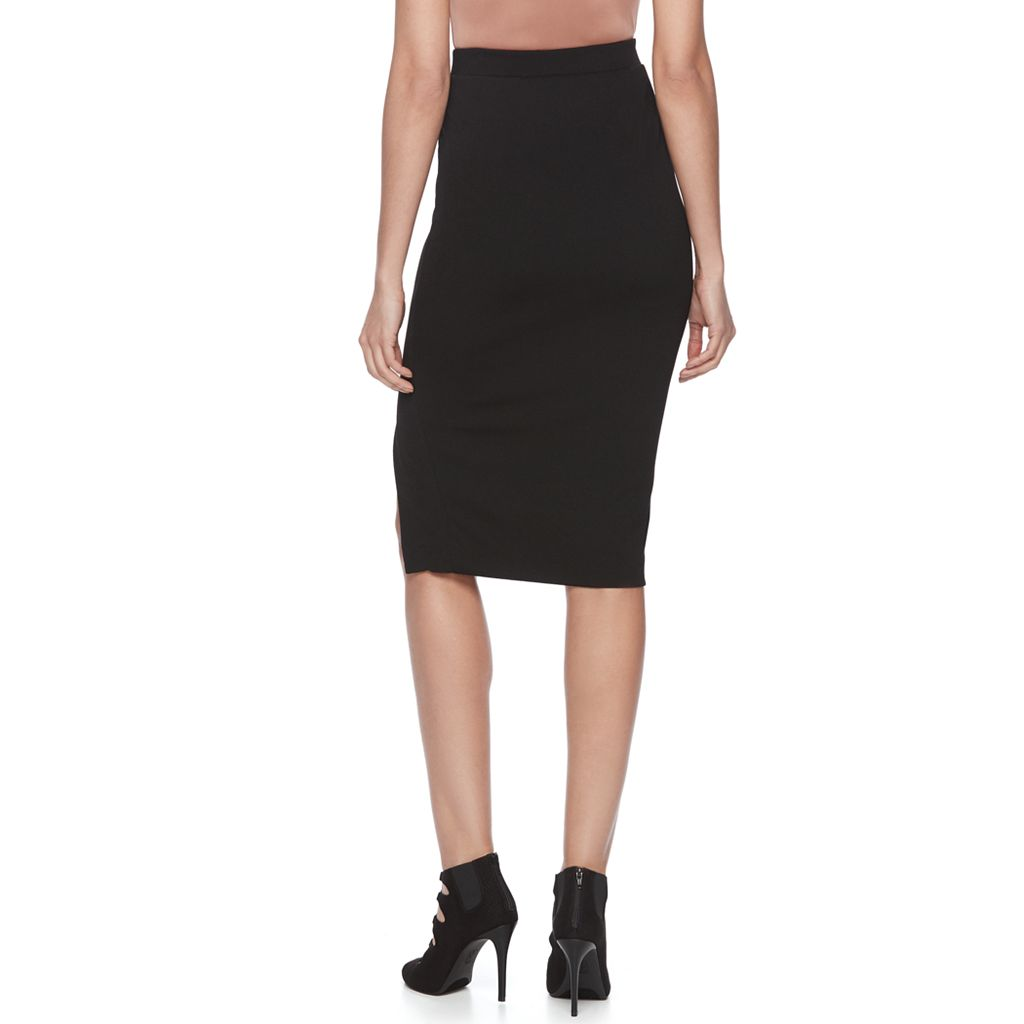 Women's Jennifer Lopez Studded Pencil Skirt