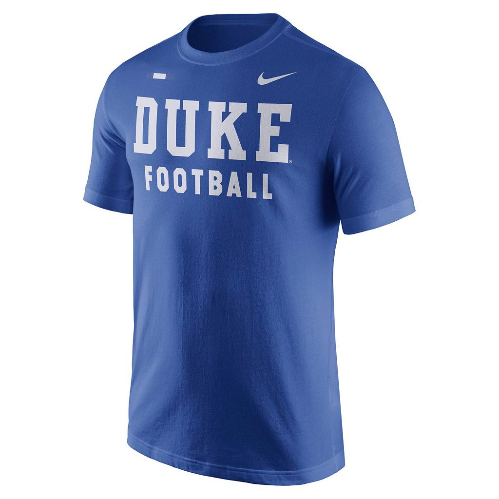 Men's Nike Duke Blue Devils Football Facility Tee