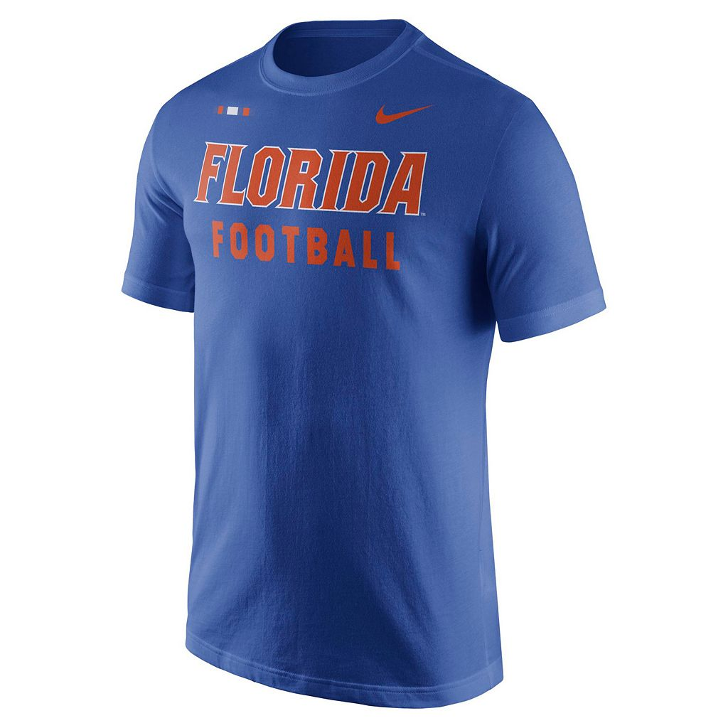 Men's Nike Florida Gators Football Facility Tee