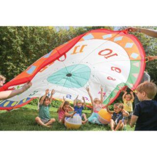 Pacific Play Tents 12-ft. Tick Tock Clock Parachute