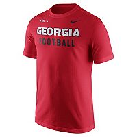 Men's Nike Georgia Bulldogs Football Facility Tee
