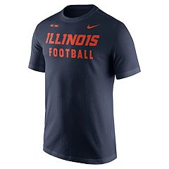 Men's Nike Illinois Fighting Illini Football Facility Tee