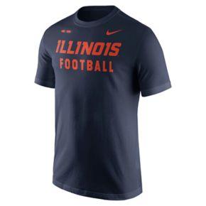 Men's Nike Illinois Fighting Illini Football Facility Tee