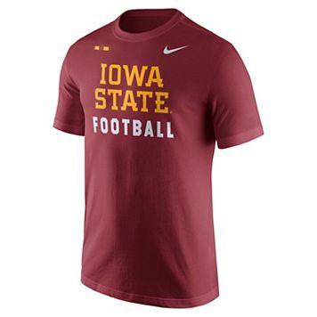 Men's Nike Iowa State Cyclones Football Facility Tee