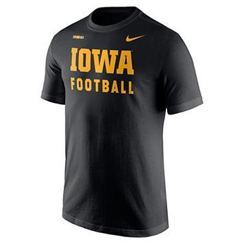 Men's Nike Iowa Hawkeyes Football Facility Tee