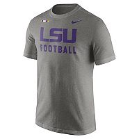 Men's Nike LSU Tigers Football Facility Tee