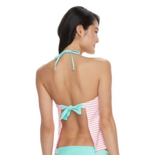 Mix & Match Angel Wing Trim Tankini