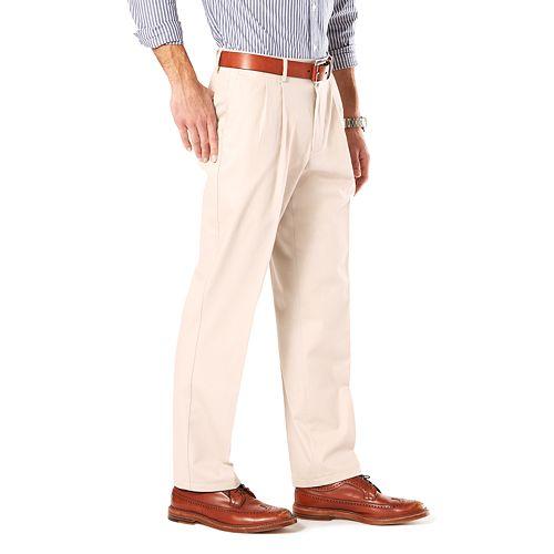 Big & Tall Dockers® Stretch Signature Khaki D3 Classic-Fit Pleated Pants