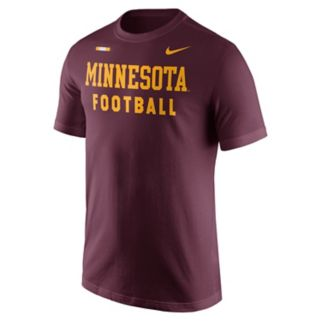 Men's Nike Minnesota Golden Gophers Football Facility Tee