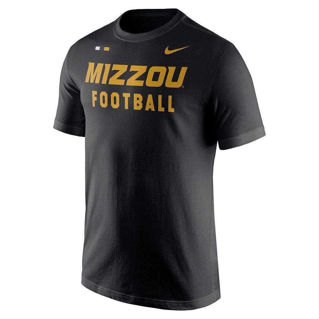 Men's Nike Missouri Tigers Football Facility Tee