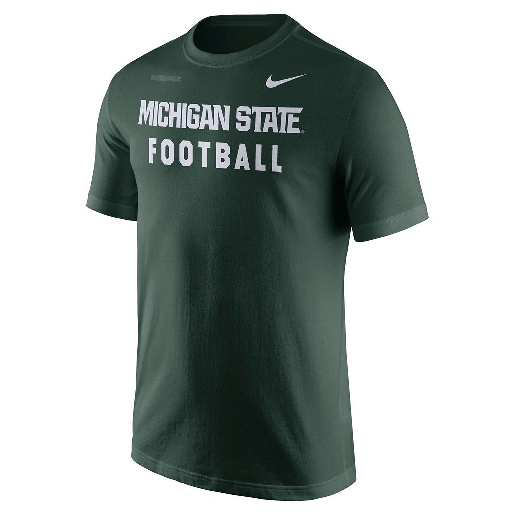 Men's Nike Michigan State Spartans Football Facility Tee