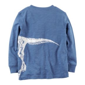 Baby Boy Carter's Long Sleeve Dinosaur Wrap-Around Graphic Tee