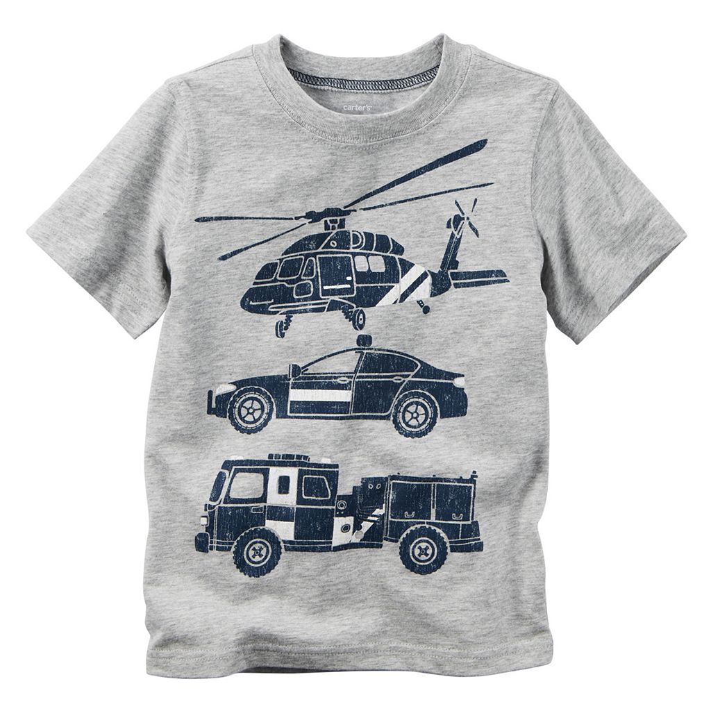 Baby Boy Carter's Rescue Vehicle Tee
