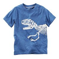 Baby Boy Carter's Short Sleeve Dinosaur Wrap-Around Graphic Tee