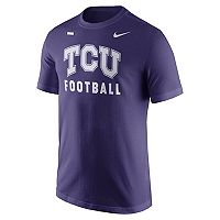 Men's Nike TCU Horned Frogs Football Facility Tee