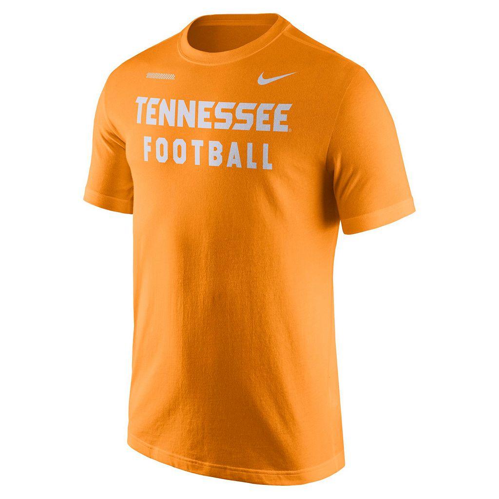 Men's Nike Tennessee Volunteers Football Facility Tee