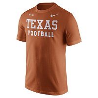 Men's Nike Texas Longhorns Football Facility Tee