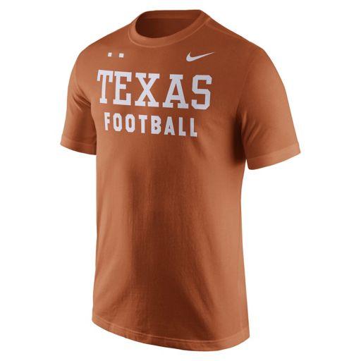 Men's Nike Texas Longhorns Football Facility Tee