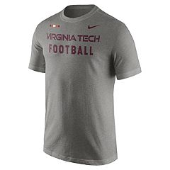 Men's Nike Virginia Tech Hokies Football Facility Tee