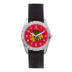 Kids' Sparo Chicago Blackhawks Nickel Watch