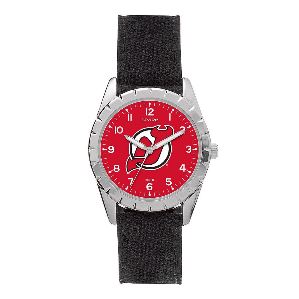 Kids' Sparo New Jersey Devils Nickel Watch