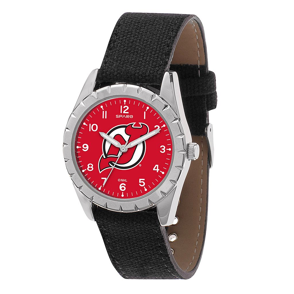 Kids' Sparo New Jersey Devils Nickel Watch