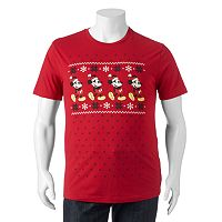 Big & Tall Disney's Mickey Mouse Fairisle Tee