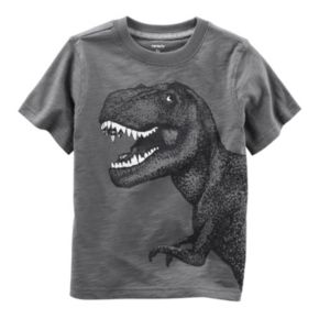 Baby Boy Carter's Glow-In-The-Dark Dinosaur Graphic Tee
