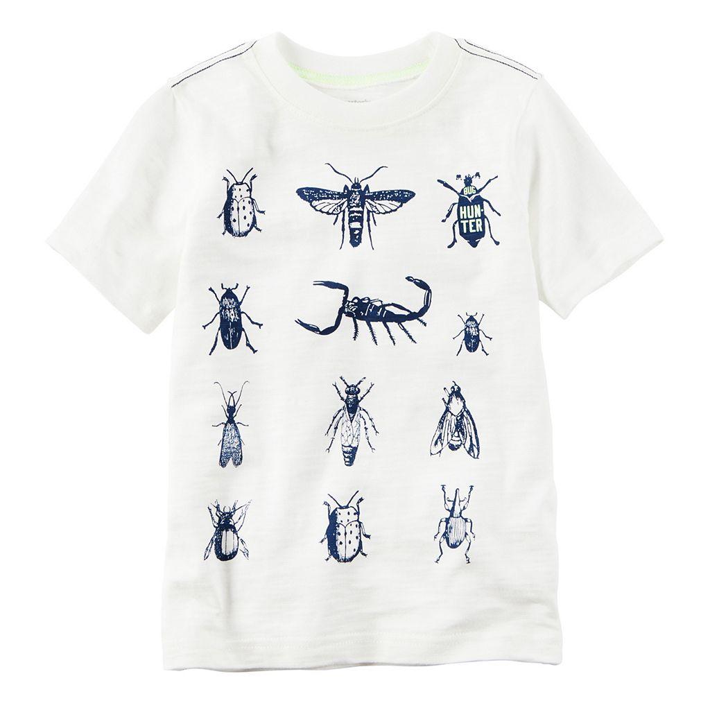 Baby Boy Carter's Short Sleeve Bugs Graphic Tee