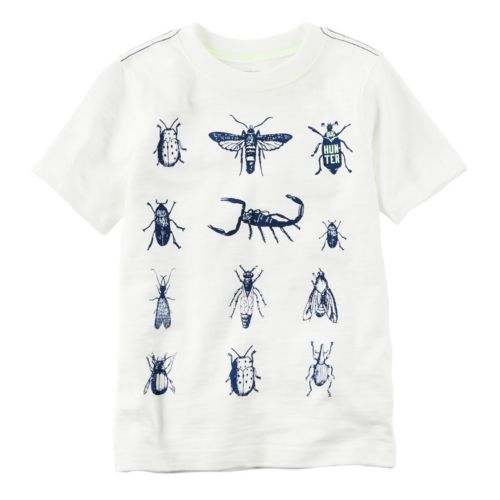 Baby Boy Carter's Short Sleeve Bugs Graphic Tee