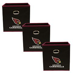 Arizona Cardinals 3-Pack Storeits Fabric Storage Drawers