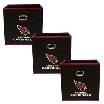 Arizona Cardinals 3-Pack Storeits Fabric Storage Drawers