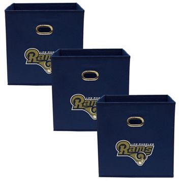 Los Angeles Rams 3-Pack Storeits Fabric Storage Drawers