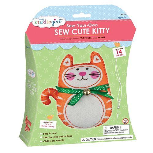 My Studio Girl Sew-Your-Own Sew Cute Kitty