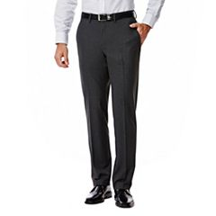 Men's J.M. Haggar Premium Slim-Fit Stretch Flat-Front Suit Pants