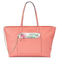 Apt. 9 Jade Soft Tote with Removable Pouch by