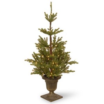 National Tree Company 4.5-ft. Pre-Lit Artificial Imperial Spruce Porch Tree