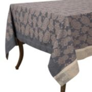 KAF HOME Paisley Jacquard Tablecloth